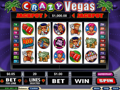 Crazy Vegas Slots Game