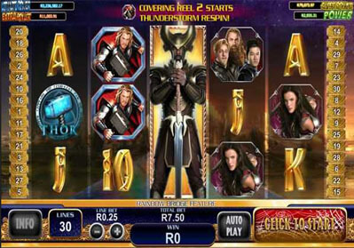 Thor The Mighty Avenger Slots Game